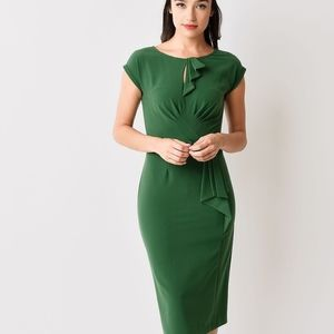 Stop Staring Dresses - Stop Staring 1940s Timeless Fitted Wiggle Dress